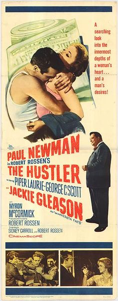 1961 The Hustler  Paul Newman movies are always worth seeing again