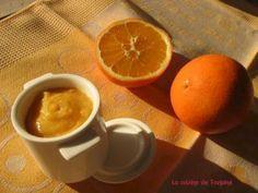 Orange curd (au thermomix et sans beurre)