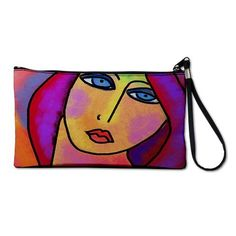 Clutch Purse Clutch Bag Wristlet Printed with My