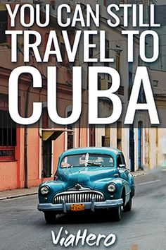 """It's a common question: """"As an American, can I travel to Cuba?"""" And the answer is YES! Here's the latest information on travel to Cuba."""