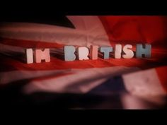 Professor Elemental - I'm British  Video by Moog