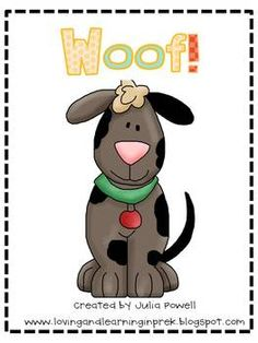 Woof! Letter sound recognition. Intervention. Could turn into sight word activity too