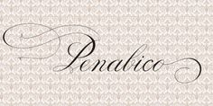 Penabico font download