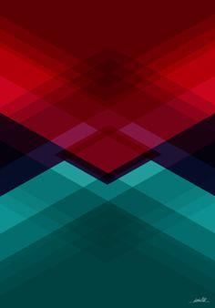 Poster geometric_color_01 do Studio Danielbt por R$55,00
