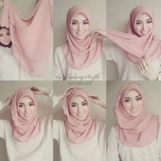 112 Best Hijab Tutorials images  Hijab style tutorial, Hijab tutorial, Scarves