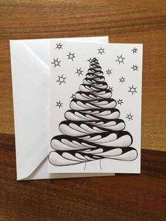 """Einmalig, diese von Hand gezeichneten Karten von """"NiCia""""!  Preis CHF 5.-/Stück. https://ansalia.ch/shop/NiCiA #ansalia #karten #zeichnen"""
