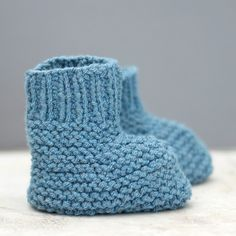 Baby Knitting Patterns, Baby Booties Knitting Pattern, Crochet Baby Booties, Baby Patterns, Free Knitting, Knitting Needles, Baby Bootees, Free Crochet, Crochet Pattern