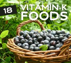18 Foods High in Vitamin K for Stronger Bones  -- Vitamin K plays a crucial role in proper blood coagulation (clotting), which prevents excessive bleeding. It also helps the body absorb calcium, and thus it's an essential aspect of bone health. Many foods, especially leafy vegetables, are abundant in Vitamin K, so make sure you're eating right and maintaining a Vitamin K rich diet.
