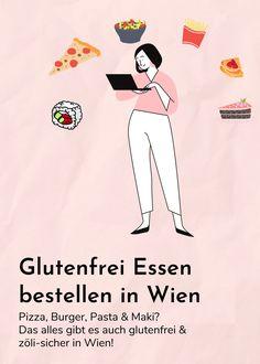 Glutenfrei Essen bestellen in Wien – Diese Lokale liefern. Gluten Free Foods, Thoughts, People
