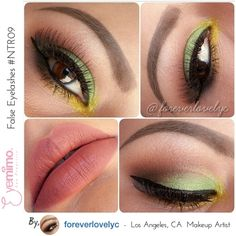 Summer Fun Color #eyemakeup by @foreverlovelyc wearing our falsies style #NTR09 ========================= For #igers #picoftheday by #beautycompany in #sanfrancisco #bayarea currently specializing in #falseeyelashes with over 100 different styles to choose available at www.eyemimo.com. SHIP WORLDWIDE