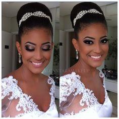bridal makeup, African-American