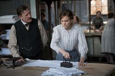 """Penny says, """"We first meet Maud one year earlier--in 1912--inside the clank and clamor of an industrial laundry on London's East End (aka the poor side of London). She is surrounded onscreen by women close to crushed by heavy physical labor."""""""