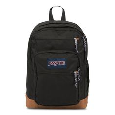 With its premium synthetic leather bottom, the COOL STUDENT backpack from JANSPORT gives you a cool vintage look. Capacity of Dimensions x x All JANSPORT backpacks are guaranteed for life. Backpack Online, Laptop Backpack, Black Backpack, Laptop Bags, Backpack Brands, Travel Backpack, Stylish Backpacks, Cool Backpacks, College Backpacks