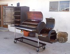 This is one I want - yup, for the backyard.      BBQ Pit