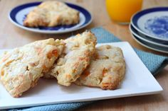 Apple Cheddar Scones with Honey Glaze | Used with Permission: What Jew Wanna Eat