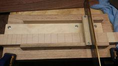 Fret-slotting jig - Cigar Box Nation