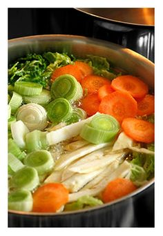 Flavorful Stock | How to build a better and more flavorful Soup Recipe by starting with a great stock.