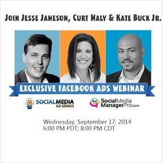 Social media ad genius, curt maly & KBJ -- in the house tomorrow! --> http://gowoa.me/i/M6r