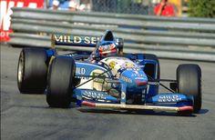 1995 Michael Schumacher (GER) (Mild Seven Benetton Renault), Benetton B195 - Renault RS7 3.0 V10