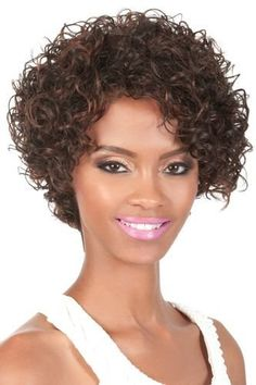 51 Best Curly Short Wigs images | Short wigs,