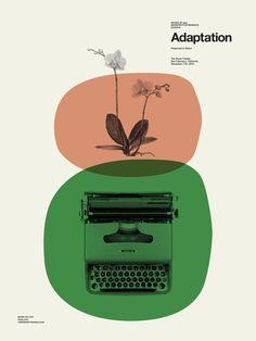 Resultado de imagem para adaptation typewriter poster