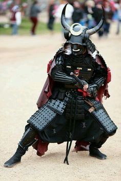 Armored samurai.