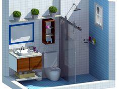 Promob.. Banheiro residencial.