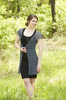 Long in length but light in weight, this lovely cardigan is the perfect look for any summertime occasion! Designed by Rae Blackledge, this week's free Willow Wednesday pattern features a trendy long cardigan that's ideal for layering over a sundress to attend a summertime wedding or pairing with a tank top and jeans for a more casual look. Using a classic double crochet lace pattern, the intermediate design is stitched in Willow Feather, a linen/cotton blend perfect for warm weather…