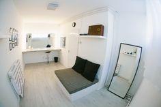 Business Portrait, Photo Studio, Entryway, Cabinet, Storage, Bed, Studios, Spaces, Furniture