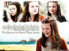 Narnia #2 - Lucy is my favorite character.
