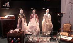 Luxurious traditional hand-made silk garments by Bidanbim Grand Hyatt, Seoul, Traditional, Silk, Luxury, Painting, Painting Art, Paintings, Painted Canvas