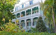 Now the home of 'The Porch Bar' the porches of this grand 100 year old Key West mansion, has an appropriate contemporary name.