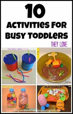 10 Activities For Busy Toddlers by FSPDT great ways to keep my little guy busy by Malta Spectrum