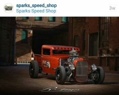 Instagram: sparks_speed_shop 1930 Ford pickup