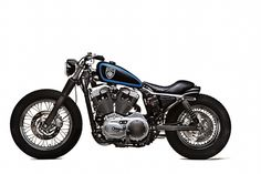 Harley-Davidson Stellalpina - Roberto Rossi - via Harley Bobber, Bobber Motorcycle, Cool Motorcycles, Harley Davidson Sportster, Sportster Cafe Racer, Biker Style, Motorbikes, Automobile, Classic