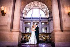 San Francisco City Hall Wedding | RedSphere Photography