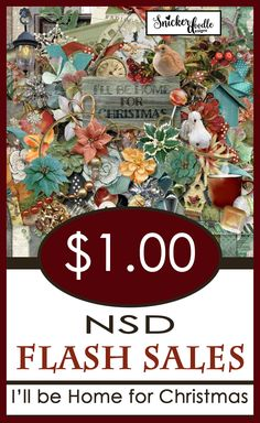 Build your stash with $1 Flash sales to celebrate National Scrapbooking Day.