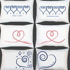 diseño de cojines para san valentin - Buscar con Google