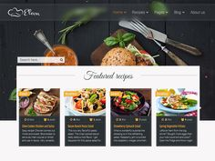Eleon is a modern and vivid Food Recipes Free HTML Template for your recipe website. Single recipe includes list with ingredients, directories, description and related recipes.