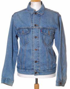 Vintage Blue Levi Strauss 70507 denim trucker jacket - Medium #EasyPin