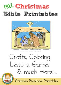 loaded with free Christmas printables of all kinds, on ChristianPreschoolPrintable.com. I plan on perusing this to fill out our December school days this year! (And then reusing some with our children's ministry at church!)