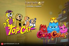 This week, play cat-themed slots - Top Cat and Copy Cats slots at Jackpot Mobile Casino. Read here to know more about it: #London #casino #UK