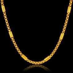 Gold Chains For Men Thnic Thick Gold Chain Necklace For Men, Wholesale Gold Color Chain Designs, Male Necklace Gift, Women Party Accessories Gold Necklace For Men, Mens Chain Necklace, Necklace Types, Chain Jewelry, Gold Jewelry, Mens Jewellery, India Jewelry, Latest Jewellery, Jewellery Designs