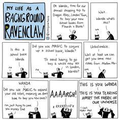 Emily's Cartoons — Ravenclaw Sunday