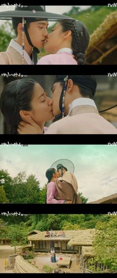 Days My Prince' Do Kyung-soo and Nam Ji-hyun had a romantic ending. On the latest episode of the tvN drama Days My Prince', Prince Lee Yool (Do Kyung-soo) married Hong Sim (Nam Ji-hyun) whose status had been reinstated. Korean Drama Movies, Korean Dramas, Lee Byung Hun, Korean Entertainment News, Framed Tv, Do Kyung Soo, Drama Korea, Thai Drama, Drama Series