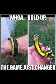 Pipe bracelet
