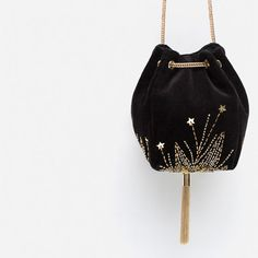 Zara evening bag New with tag. Fashion Bags, Fashion Accessories, Yennefer Of Vengerberg, Potli Bags, Embroidery Bags, Zara Bags, Beaded Bags, Cute Bags, Pouch Bag