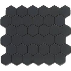 492 sqft black 12x12 hexagon mosaic 11pcscarton 11 sq ft usct