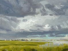 Clouds over the Sound. Robert Barber