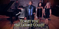 """Ceelo's """"Forget you"""" with a 30s spin feat. LaVance Colley: https://www.youtube.com/watch?v=STYKUv1ERGc"""